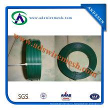 Слабая стальная низкоуглеродистая железная Проволока Покрынная PVC