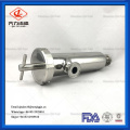 Stainless Steel Clamp Inline Strainer Filter Fitting