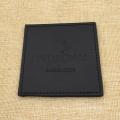 Пользовательские логотип черный PU кожаный бар кружка Каботажное судно placemat