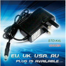 12VDC 2A Plug Type Power Supply