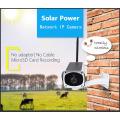 Câmera sem fio ao ar livre solar do IP da segurança da potência solar