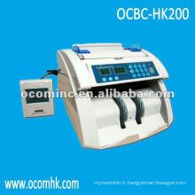 OCBC-HK200 --- Machine de comptage de monnaie de détection UV et MG de détection de vente chaude de vitesse élevée