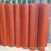 Malla de alambre expandida en tamaño de rollo para exprotar