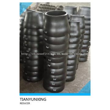 B16.9 Carbon Steel Nahtlose Butt Schweißbeschläge Reduzierungen