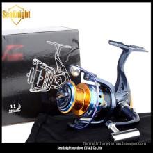 Best Seller Spinning moulinets de pêche avec le meilleur prix