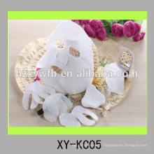 viscose non-tissée jetable ou coton ou fibre de beauté revêtement de masque facial
