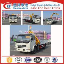 Dongfeng 10 toneladas Camión grúa con mechnical control