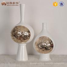 Suporte de vaso de flor de resina de peça central de casamento para casa