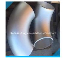ANSI B16.9 Codo sin costuras de acero inoxidable de 90 grados