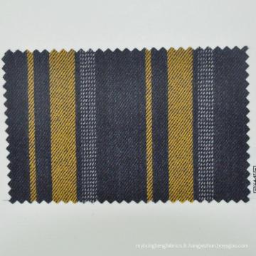 tissu de laine vierge pour la bande de panneau uniforme bancaire