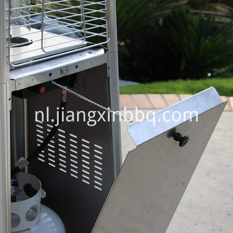 Outdoor Patio Heater with Stainless Steel Base