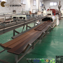 WPC Decking Making Machine/ Extrusion Machine/Production Machine