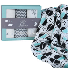 Organic Baby Wholesale Muslin Wraps Reusable Baby Muslin Swaddle