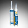 Mastic silicone à durcissement acide à grande adhérence.