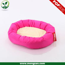 hot pink polyester luxury pet dog beds for dog sleeping
