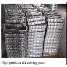 Hochdruck-Aluminium-Druckguss mit Beschichtung