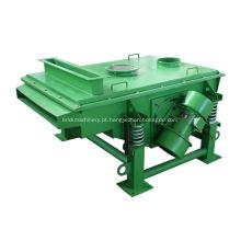 Separador de tela vibratório linear de máquina de peneira de grãos de coco