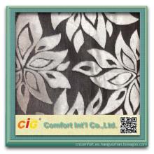 hojas de tela de diseño más recientes de sofá y muebles de tela de flores