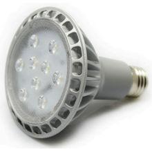 UL listó 2014 nuevo diseño regulable led lámpara par30 iluminación led