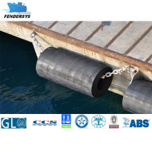 Cylindrical Dock Fender Cover with Natural Rubber