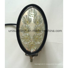 "3000lm 12V 6 ""Oval 40W Auxiliary CREE LED Working Light"