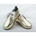Children Fashion Oxford shoes with rubber sole kids shoes