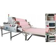 Automático, espalhando a máquina de tricô e tecido