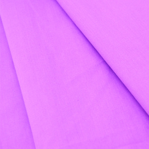 Polyester Cotton Purple Fabric