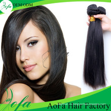 2016 Новый Естественная Прямая Виргинский Бразильский Человеческих Волос