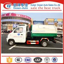 Famosos FAW mini 3ton camiones compactadores de basura para la venta
