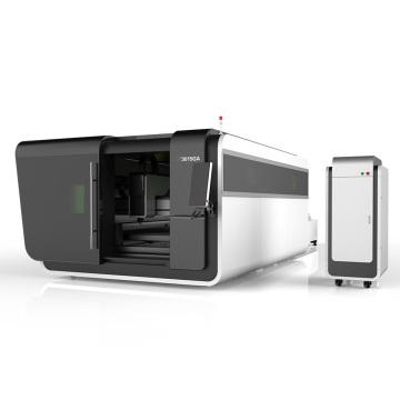 Máquina de corte láser de fibra CNC de aluminio