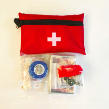 Useful first aid emergency kit travel for car