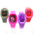 Children Waterproof Silicone Jelly Quartz Watch