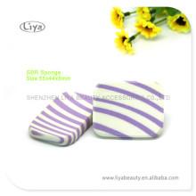 Wiederverwertbare schöne Kosmetikschwämmchen für Pulver Pulver einsetzbar