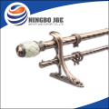 AC Color Iron Dual Curtain Poles