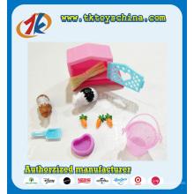 2017 neue Design Kunststoff Tier Meerschweinchen Set Spielzeug