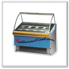 R055 Buffet Stainless Steel Ice Cream Display Cabinet