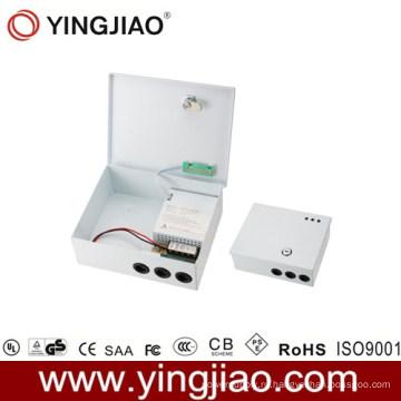 Адаптер питания камеры видеонаблюдения с резервным аккумулятором
