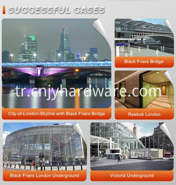glass hardware supplier