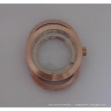 Boîtier de montre ovale, coquille, boîtier en losange, coquille, qualité de qualité