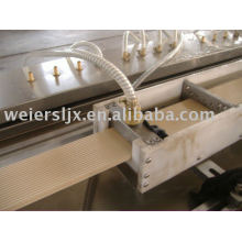 WPC PVC Foamed Profile Line---Plastic Machine