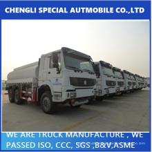 Caminhão de entrega de combustível de Sinotruk HOWO Drive completo 6 X 6