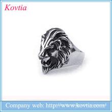 Популярные мужские кольца льва кольца льва титана льва 2016 для людей