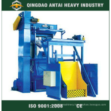 Rubbertrack Shot Blasting Machine for Bolts and Screws