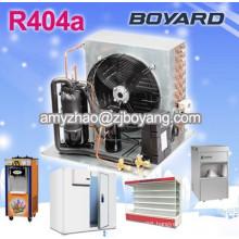 boyard Commercial refrigerator display cabinet with refrigeration compressor condensing unit