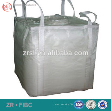 Virgin one ton bag for fertiliser/cement/disposable garbage,Recyclable food grade big bag for corn