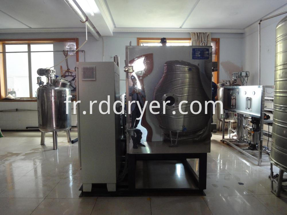herbs concentration vacuum drying machine for food industry