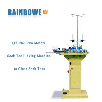 QY-282 Zwei Motoren Sock Toe Linking Maschine zum Schließen Socken Zehen
