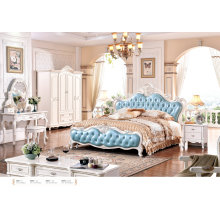 French Bedroom Sets, Kind Size Europe Style Bed (6021)