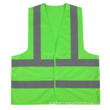 Custom  Reflective Hi Visibility Green Safety Vests